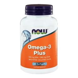 Now Omega-3 Plus 60 softgels