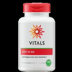 Vitals IJzer 25 mg - 100...