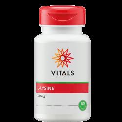Vitals L-Lysine - 60 Capsules