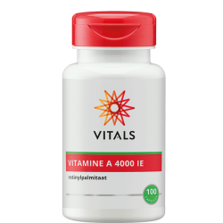 Vitals Vitamine A 4000 IE -...