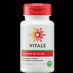Vitals Vitamine B2 25 MG -...