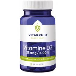 Vitakruid Vitamine D3 - 25...