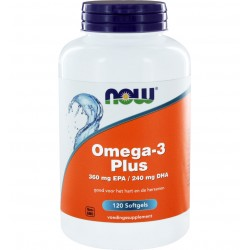 Now Omega-3 Plus 120 softgels