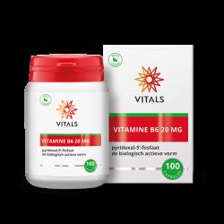 Vitals Vitamine B6 20 MG -...